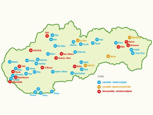 www.kiskatravel.sk - Vodné nádrže a priehrady na Slovensku