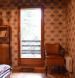 Cottage Ružomberok - Hrabovo 1128 - triple-bed:   (3 x  connected or separated twin beds), with a shared balcony, attic