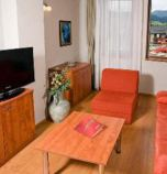 Wellness hotel**** Bešeňová 2621 - apartment Classic: 1 x double-bed (1 x  double bed),  + 2 x additional bed (1 x fold-out couch, common room ), common room (pay TV, radio, telephone, seating, safe, Internet for free, minibar), no kitchen (fridge), bathroom (bath, WC in the bathroom, wash-basin)