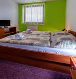 Hotel*** Vyšná Boca 3941 - double-bed:   (1 x  double bed), TV, telephone, wi-fi (wireless) connection, Internet for free, Own bathroom in room (shower cabin, WC in the bathroom)