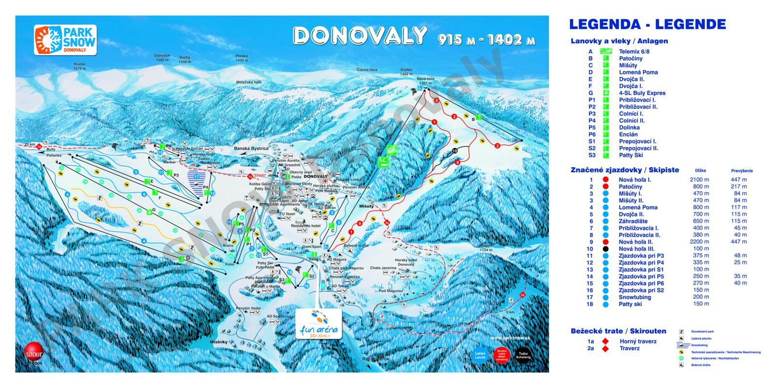 www.kiskatravel.sk - lyžovanie na Donovaloch