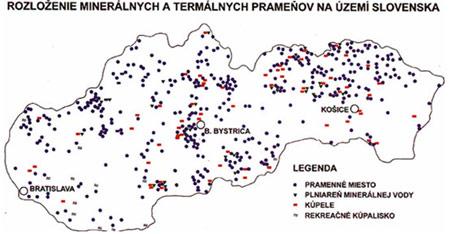 Kiska Travel - zoznam termálnych kúpalisk na Slovensku